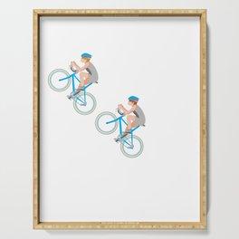 Ohhhhh Oh Shift Crap Darn Snap Yikes Cycling Bike T Shirt Serving Tray
