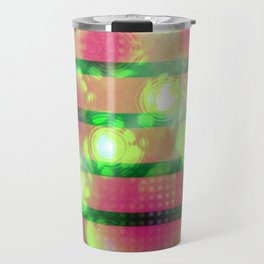 Stained slats (light) Travel Mug