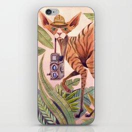 Safari Sphynx iPhone Skin