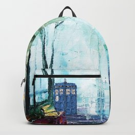 Tardis And The Street Chair Backpack