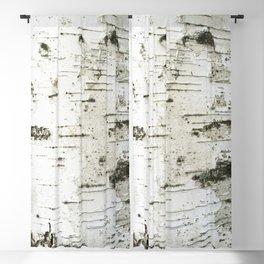 Birch bark pattern Blackout Curtain