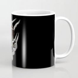 Vaping Monster Illustration | Horror Vape Coffee Mug