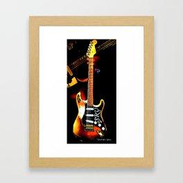 SRV - Number One - Graphic 3 Framed Art Print
