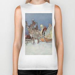 """The Happy Princess"" Fairy Art by Charles Robinson Biker Tank"