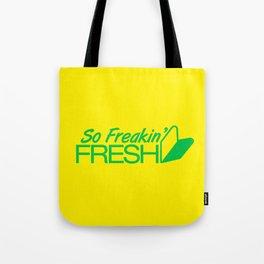 So Freakin' Fresh v2 HQvector Tote Bag