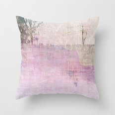 Abstract ~ Landscape Throw Pillow
