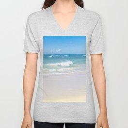 beach bliss Unisex V-Neck