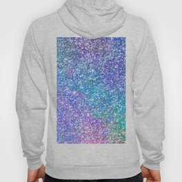 Colorful Glitter Texture Hoody