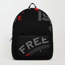 Freedome Is A Full Tank - Biker Design Backpack