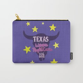 Texas has more wieners and purple cows than the dog house Carry-All Pouch