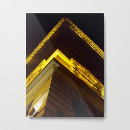 The Continental Metal Print