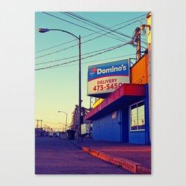 South Tacoma Domino's Canvas Print