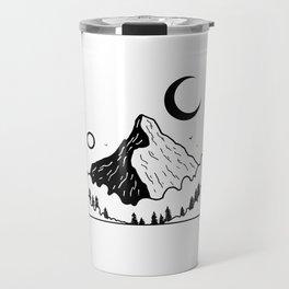 Montagnes dans les nuages 2 Travel Mug