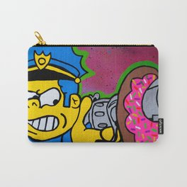 Chief Wiggum Shootin Donuts Carry-All Pouch