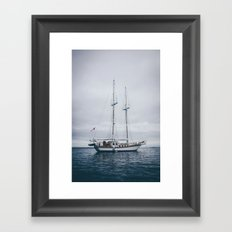 Sail Boat Framed Art Print