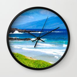 A View Of Paradise Wall Clock