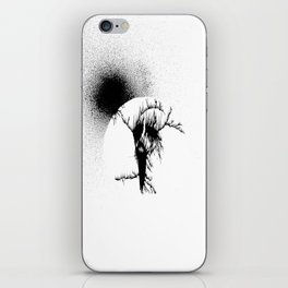 Black Sun II iPhone Skin