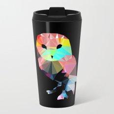 Crystal Owl Metal Travel Mug