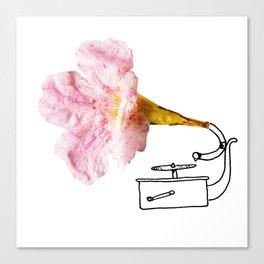 Victroflower Canvas Print