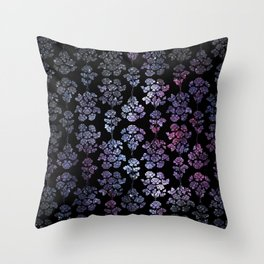 Floral Constelations pattern Throw Pillow