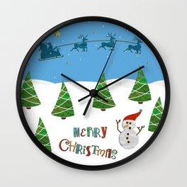 Christmas motif No. 1 Wall Clock