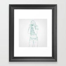 SKETCH Nº026 Framed Art Print