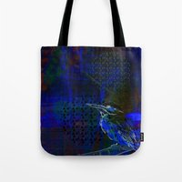 birdy Tote Bags featuring Birdy by Nett Designs