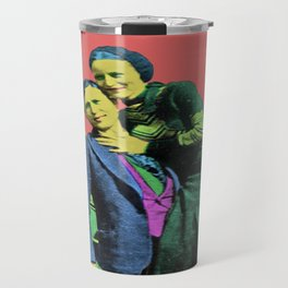 Bonnie and Clyde Pop Art Travel Mug