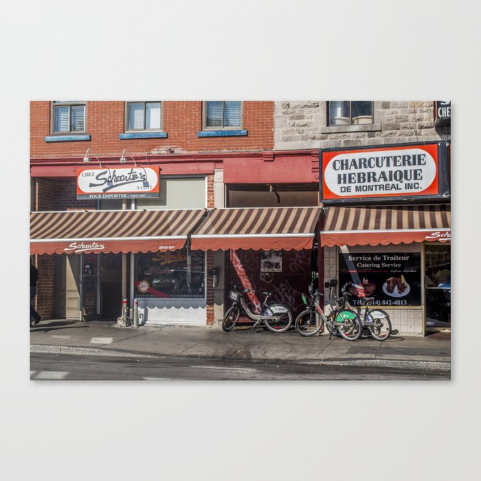 Schwartz's Smoked Meats Canvas Print