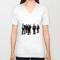 reservoir dogs V-neck T-shirts featuring Reservoir Dawgs by David Procter