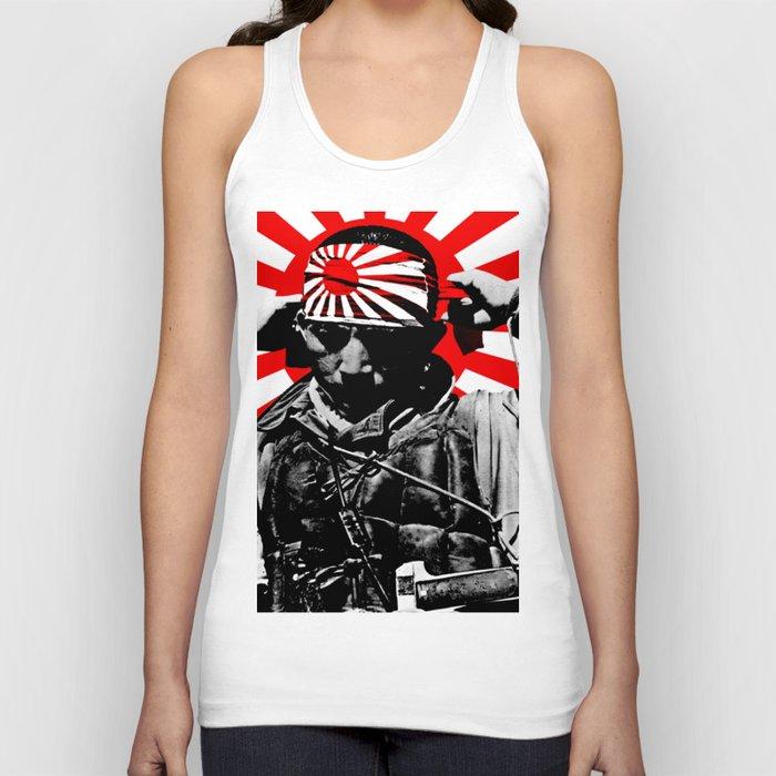 Kamikaze Pilot Rising Sun Unisex Tank Top