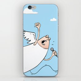 It's Rock 'n' Roll All The Way Baby iPhone Skin