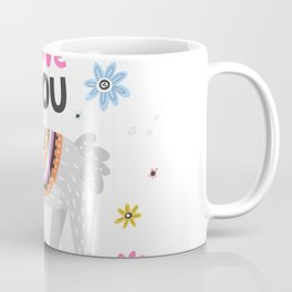 Love you lama Coffee Mug
