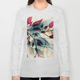 Flood of Leafs Long Sleeve T-shirt