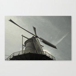 Delft Windmill  Canvas Print
