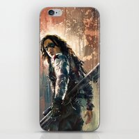 bucky iPhone & iPod Skins featuring Bucky by Wisesnail