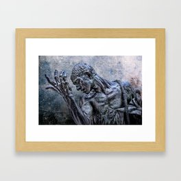 Lord, have mercy! Framed Art Print