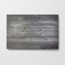 Wood texture - wooden background 1 Metal Print