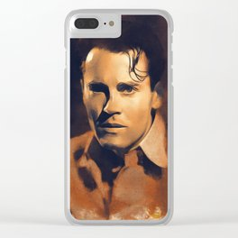 Henry Fonda, Hollywood Legend Clear iPhone Case