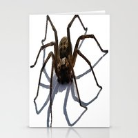 spider Stationery Cards featuring SPIDER by aztosaha