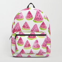 Watermelons - white background Backpack