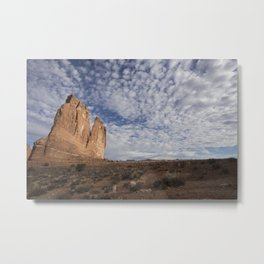 Early Morning in Arches National Park, Courthouse District Metal Print