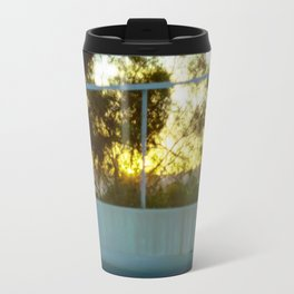 Sunset and Bokeh Travel Mug