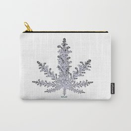 Cannabis Snow Flake Carry-All Pouch