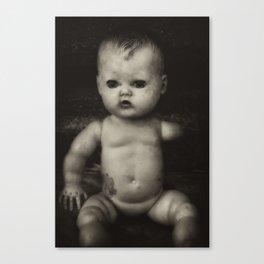 Lonely Portrait Canvas Print