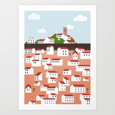 Green Istria Art Print
