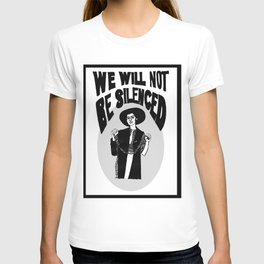 We Will Not Be Silenced V T-shirt