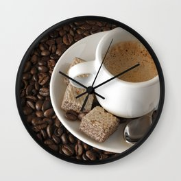 Expresso coffee Wall Clock