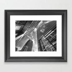 Looking Up In London Framed Art Print