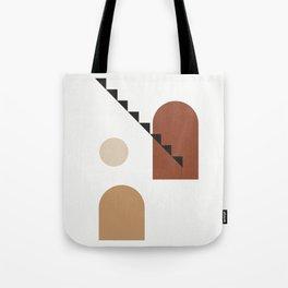 Filosofia di aristotele - Philosophy of mind abstract art illustration Tote Bag